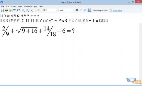 Math Editor Ekran Görüntüleri - 1