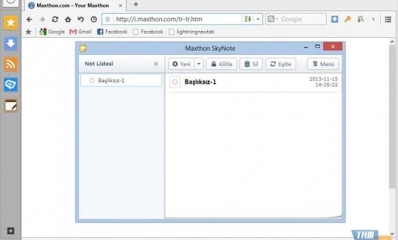 Maxthon Cloud Browser Ekran Görüntüleri - 7