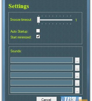 Media Freeware Free Countdown Timer Ekran Görüntüleri - 1