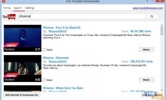 Media Freeware Free Youtube Downloader Ekran Görüntüleri - 2