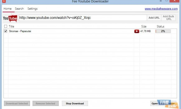 Media Freeware Free Youtube Downloader Ekran Görüntüleri - 1