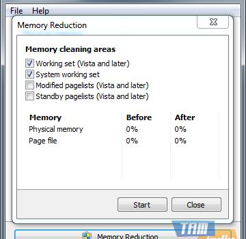 Mem Reduct Ekran Görüntüleri - 1