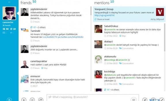 MetroTwit Ekran Görüntüleri - 1