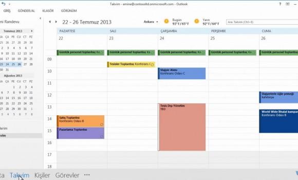 Microsoft Outlook Ekran Görüntüleri - 6