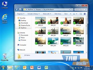 Microsoft SkyDrive Ekran Görüntüleri - 1