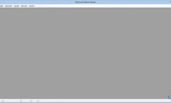 Microsoft Word Viewer 2003 Ekran Görüntüleri - 1