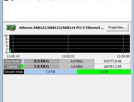 MiTeC Network Meter Ekran Görüntüleri - 2
