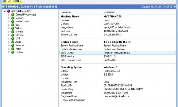 MiTeC System Information X Ekran Görüntüleri - 4