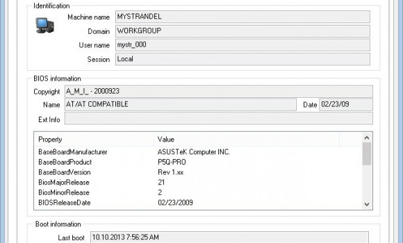 MiTeC System Information X Ekran Görüntüleri - 1