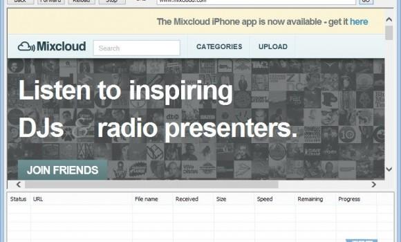 Mixcloud Downloader Ekran Görüntüleri - 2