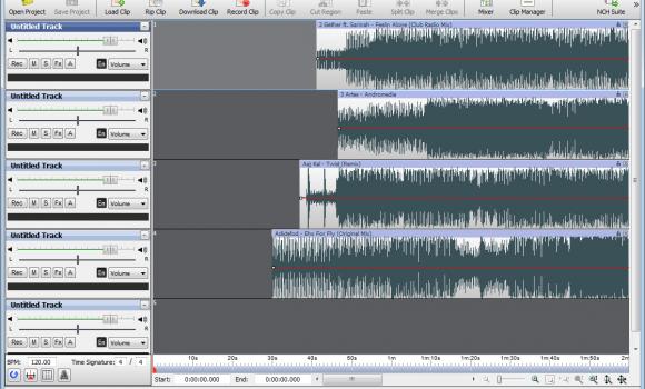 MixPad Audio Mixer Ekran Görüntüleri - 3