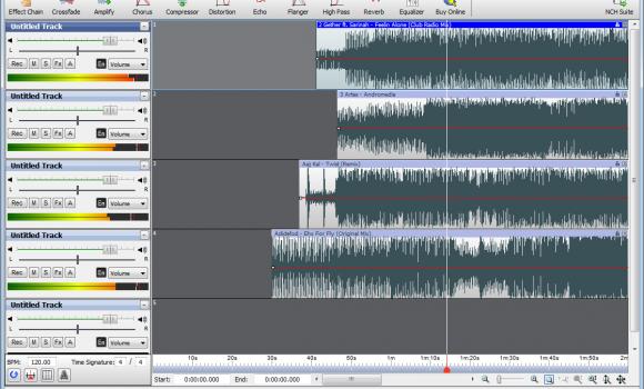 MixPad Audio Mixer Ekran Görüntüleri - 1