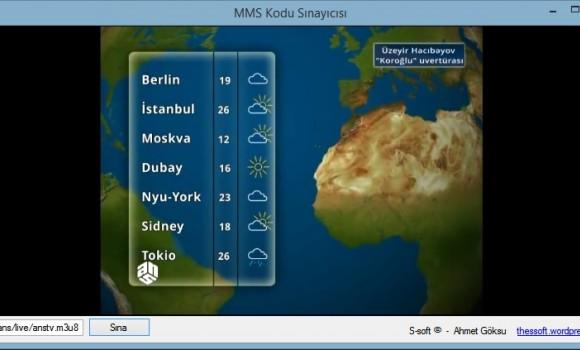 MMS Kodu Sınayıcısı Ekran Görüntüleri - 1