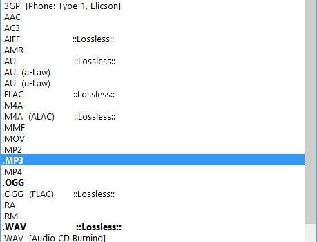 Moo0 AudioTypeConverter Ekran Görüntüleri - 1