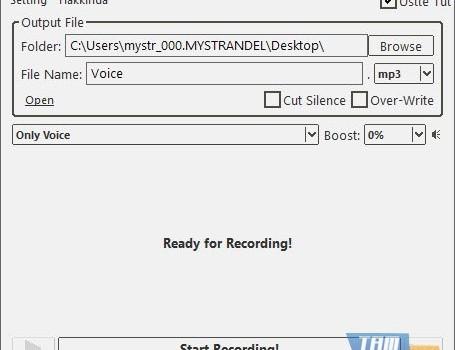 Moo0 VoiceRecorder Ekran Görüntüleri - 4