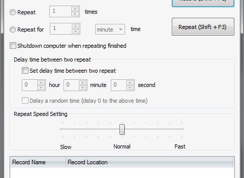 Mouse Recorder Ekran Görüntüleri - 2