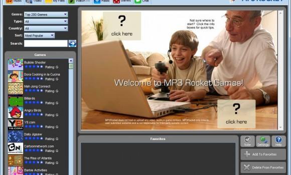 MP3 Rocket Free Version Ekran Görüntüleri - 1