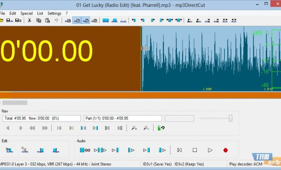 mp3DirectCut Ekran Görüntüleri - 3