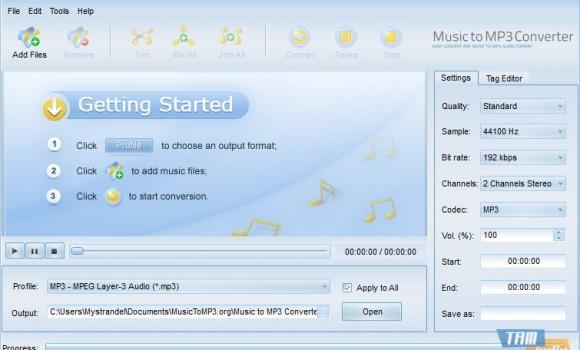 Music to MP3 Converter Ekran Görüntüleri - 2