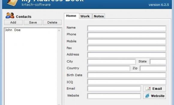 My Address Book Ekran Görüntüleri - 4