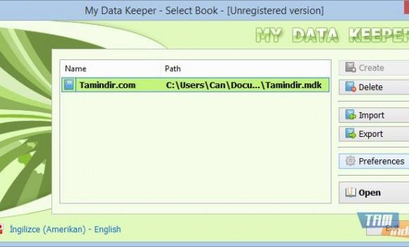 My Data Keeper Ekran Görüntüleri - 2