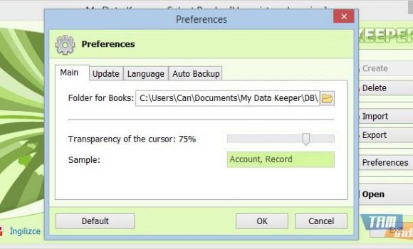 My Data Keeper Ekran Görüntüleri - 1