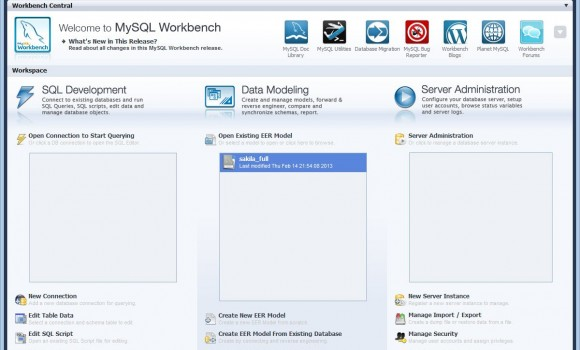 MySQL Workbench Ekran Görüntüleri - 6
