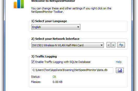 NetSpeedMonitor Ekran Görüntüleri - 1
