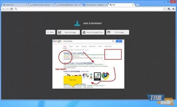 Nimbus Screen Capture Ekran Görüntüleri - 1