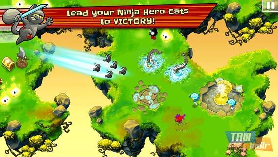 Ninja Hero Cats Ekran Görüntüleri - 2
