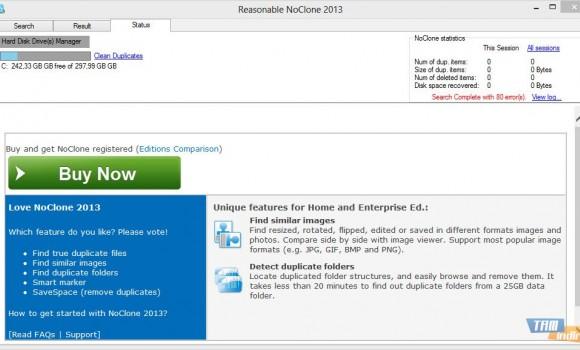 NoClone Free Edition Ekran Görüntüleri - 2