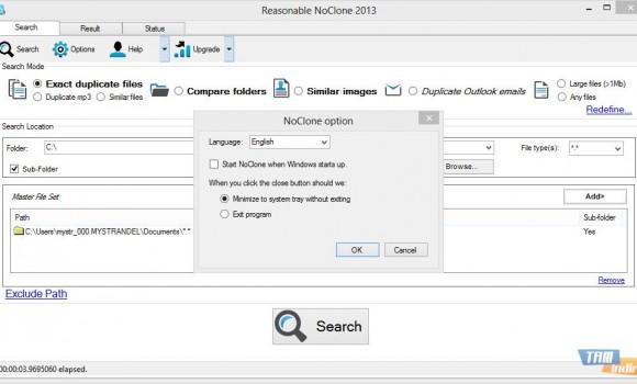 NoClone Free Edition Ekran Görüntüleri - 1