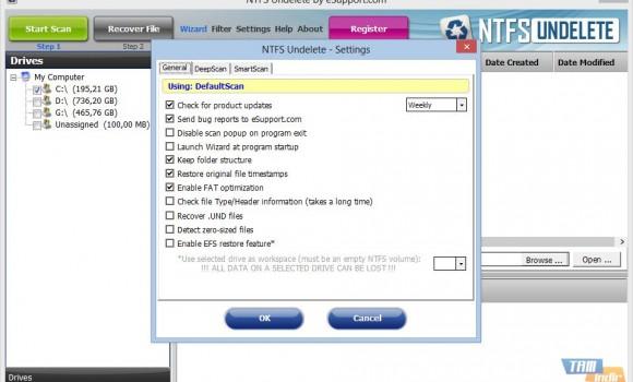 NTFSUndelete Ekran Görüntüleri - 3