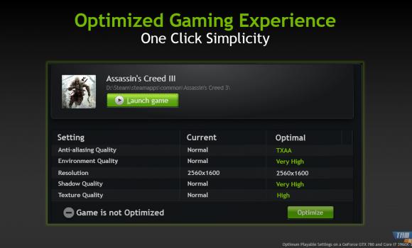 NVIDIA GeForce Experience Ekran Görüntüleri - 1