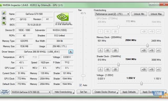 NVIDIA Inspector Ekran Görüntüleri - 4