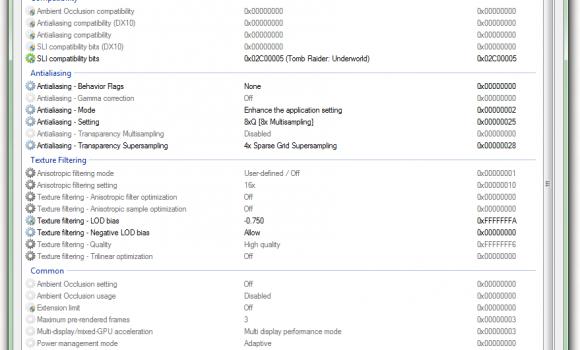 NVIDIA Inspector Ekran Görüntüleri - 3