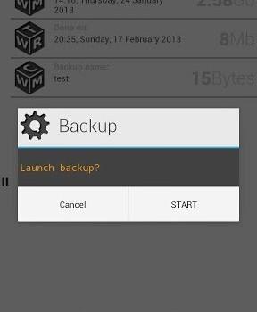 Orange Backup Ekran Görüntüleri - 1