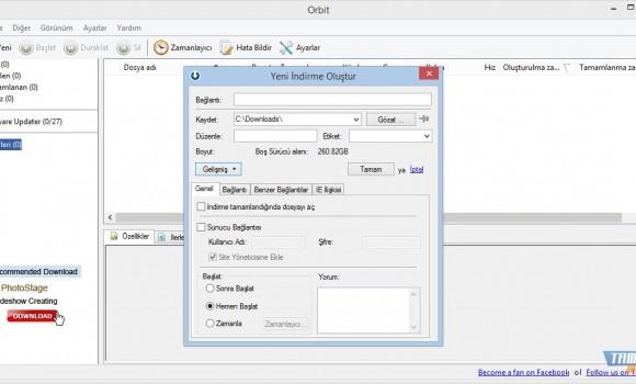 Orbit Downloader Ekran Görüntüleri - 5