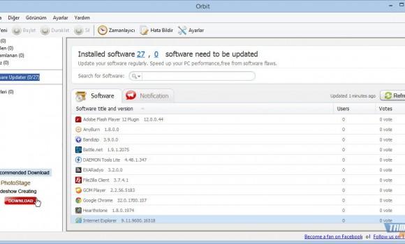 Orbit Downloader Ekran Görüntüleri - 2