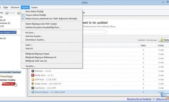 Orbit Downloader Ekran Görüntüleri - 1