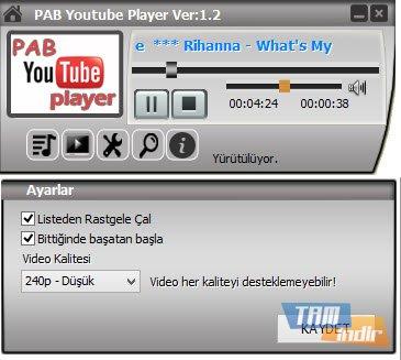 PAB Youtube Player Ekran Görüntüleri - 1