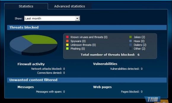 Panda Internet Security Ekran Görüntüleri - 3