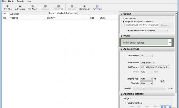 Pazera FLAC to MP3 Ekran Görüntüleri - 3