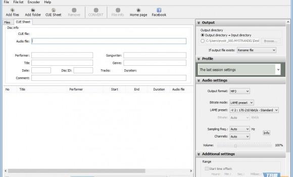 Pazera FLAC to MP3 Ekran Görüntüleri - 2