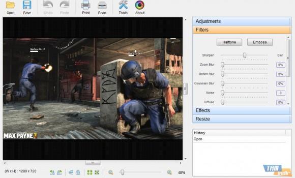 PC Image Editor Ekran Görüntüleri - 1