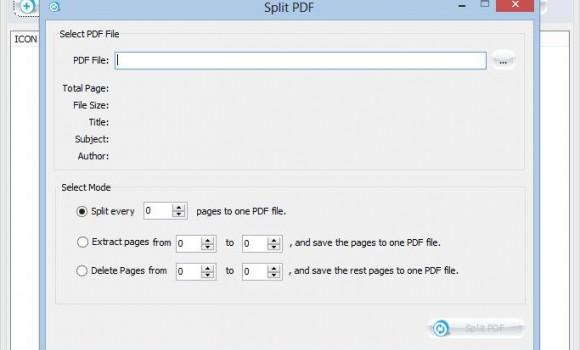 PDF Splitter Joiner Ekran Görüntüleri - 2