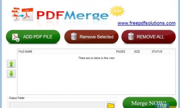 PDFMerge Ekran Görüntüleri - 1