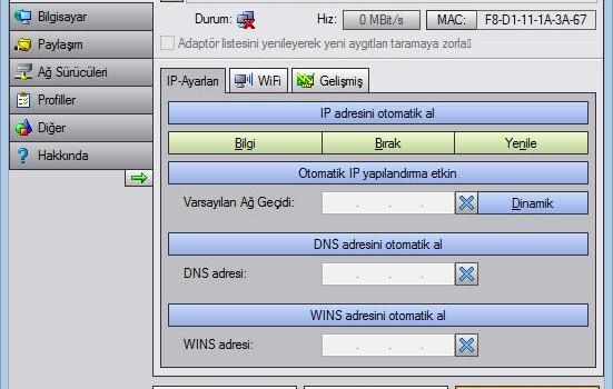PE Network Manager Ekran Görüntüleri - 4