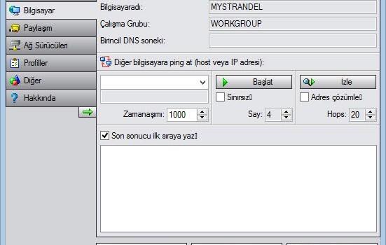 PE Network Manager Ekran Görüntüleri - 3