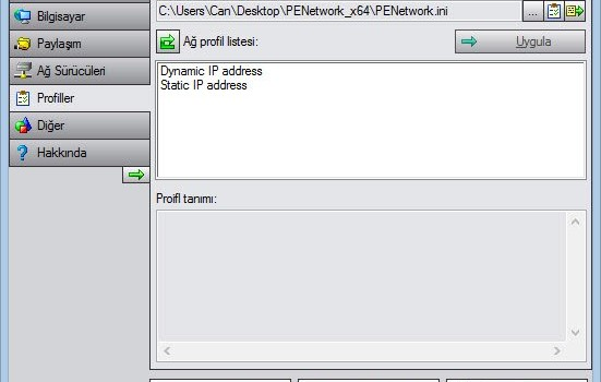 PE Network Manager Ekran Görüntüleri - 2
